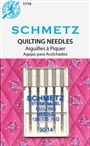 Schmetz Quilting 14/90  Needles 5pk