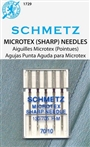 SCHMETZ Needles-1729 70/10 Microtex