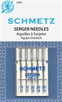 Serger Needles, Schmetz DCx1  Sizes 11-14