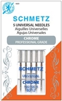 Chrome Universal Schmetz Needle 5 pk