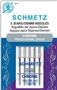 Schmetz Chrome Professional Grade Denim 130/705H Needle size 100/16 carded 5 pack
