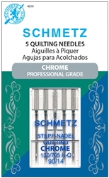 SCHMETZ Chrome Professional Grade needle, size 90/14