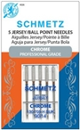 Chrome Jersey Ball Point Needle Size 90/14