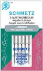 Schmetz Chrome Quilting needle, size 75/11