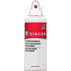 All Purpose Machine Oil Singer 4 oz