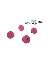 Colorful Magnetic Snaps Pink
