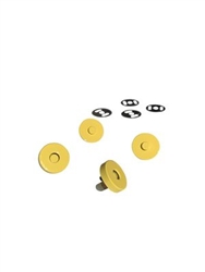 Colorful Magnetic Snaps Yellow