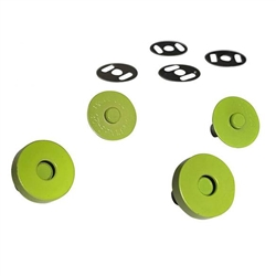 Colorful Magnetic Snaps Lime