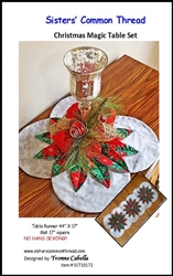 Christmas Magic Table Set Pattern Sisters' Common Thread