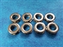 Metal Nickel Double Faced Snap Together Grommets for Bags 8 pack