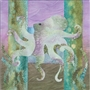 "Sea Breeze Twinkletoes, McKenna Ryan, Sea Breeze Quilt Block Series, Block 9, Octopus 12"" x 12"""