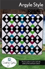 Argyle Style Quilt Pattern Swirly Girls Designs