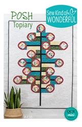 Posh Topiary Quilt Pattern