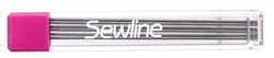 Sewline Mechanical pencil Lead Refill-Black fabric marker
