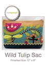 Wild Tulip Sac Quilt Pattern by Sue Spargo