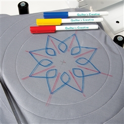 3PC QUILTER'S CREATIVE ERASABLE PEN SET