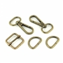 "3/4"" Basic Hardware Set Antique Brass"