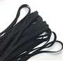 "Elastic Black 1/4"" 5yards"