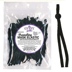 Mask Adjustable Elastic Drawstring With Toggle
