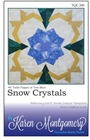 Snow Crystals Quilt Pattern Crazier Eights Ruler!