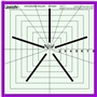 Westalee Crosshair Square 5 Points Star