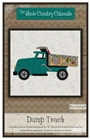 Dump Truck Precut Fused Applique Pack