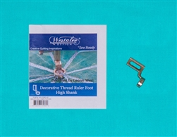Westalee Decorative Thread Ruler Foot