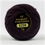 Sue Spargo Eleganza Perle Cotton #8 - Black Berry EZ08