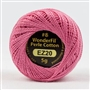 Sue Spargo #8 Eleganza Perle Cotton Pixie Dust Pink