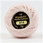 Sue Spargo #8 Eleganza Perle Cotton Fair Pink