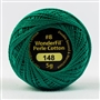 Sue Spargo Eleganza Perle Cotton #8 -Jungle Green EZ-148