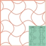 Back to Back Quilting Templates 2PC Set Westalee