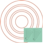 Circles On Quilts - CIRCLES 2-PC Set 1