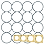Simple Circles Quilting Templates Set of 4 by Westalee Designs