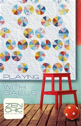 Playing With BallsQuilt Pattern by Zen Chic