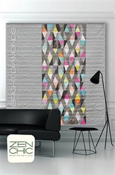 Bright Diamonds Quilt Pattern by Zen Chic ZENBDQP