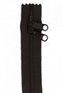 "Zippers 30"" HandBag Zipper Double Slide Black"