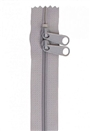 "30"" HandBag Zipper Pewter"