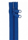 "30"" HandBag Zipper Double Slide Blastoff Blue"