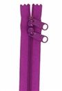 "Zippers 30"" HandBag Zipper Double Slide Tahiti Purple"