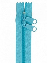 "Zippers 40"" HandBag Zipper Turquoise"