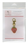 Zipper Pull Charm Strawberry