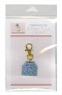 Zipper Pull Charm Farmhouse