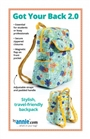 MOST POPULAR BACK PACK PATTERN! TOP FAVORITE FOR BACK TO SCHOOL!