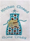 Kitchen Closed Applique Embroidery CD - Pickle Pie
