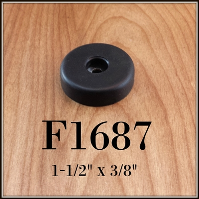F1687 rubber cabinet foot