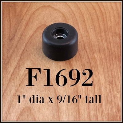 F1692 rubber cabinet foot