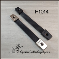 Rubber strap handles with metal insert