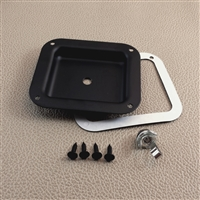 Steel single quarter jack dish - standard kit