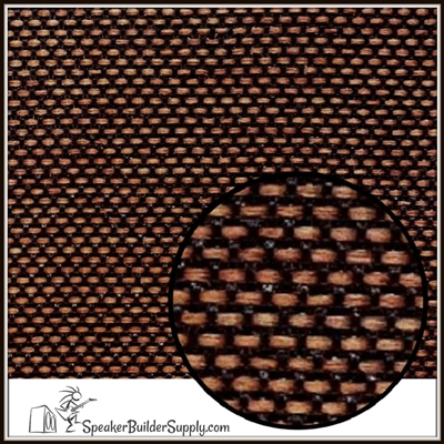 Matrix grill cloth brown and black